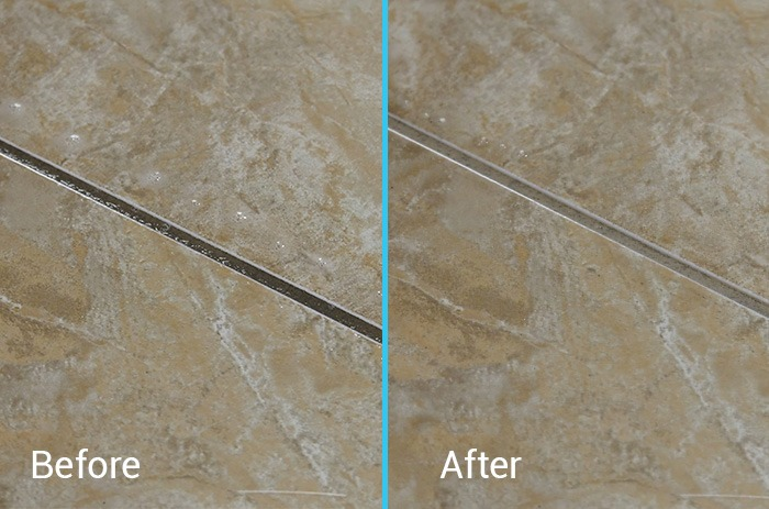 Before and After Grout Cleaner 1