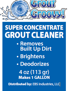 Super Concentrate Grout Cleaner